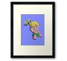 Wonderboy (mk2) Framed Print