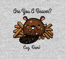 Are You A Dam Beaver? Women's Fitted Scoop T-Shirt