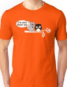 I'm nuts about you Unisex T-Shirt