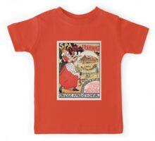 Spa Belgium 1894 Café Restaurant Frahinfaz ad Kids Tee