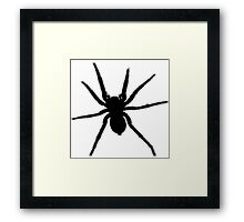 Spider vector Framed Print