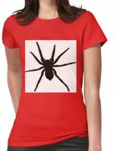 Spider vector Womens Fitted T-Shirt