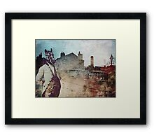 Mr Zebra Framed Print