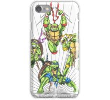 Turtle Power iPhone Case/Skin