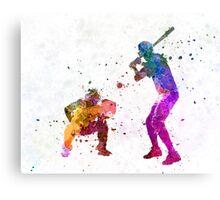 baseball players 01 Canvas Print