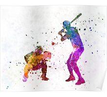 baseball players 01 Poster