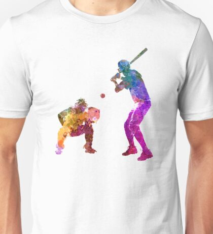 baseball players 01 Unisex T-Shirt