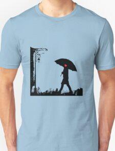 Heart umbrella - looking for love T-Shirt