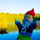 Blue Waters Gnome by DustysGnomes
