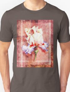 Decorative Iris Painting Unisex T-Shirt