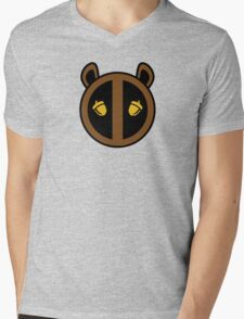 Squirrel Girl Symbol Mens V-Neck T-Shirt
