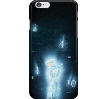 contact- red vs blue iPhone Case/Skin