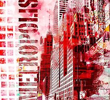 Metropolis red by artsandsoul