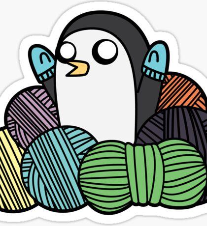 Yarn Gunter Sticker