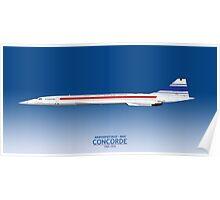 Prototype Concorde 001 F-WTSS Poster