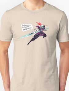 Undertale Undyne the Undying with text Unisex T-Shirt
