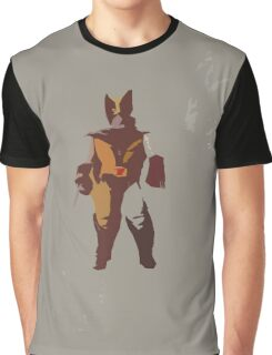 Wolverine Brown & Tan Graphic T-Shirt