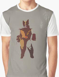 Wolverine Brown & Tan Graphic T-Shirt