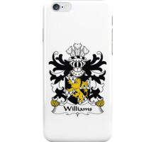 Williams Family Crest Heraldic Shield iPhone Case/Skin