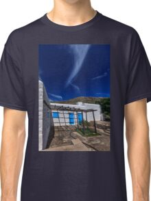 Typical Greek white stone house Classic T-Shirt