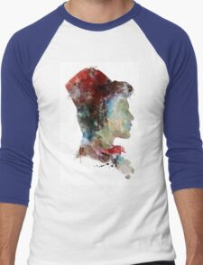Doctor Who // 11th Doctor / Matt Smith Men's Baseball ¾ T-Shirt