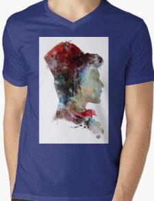Doctor Who // 11th Doctor / Matt Smith Mens V-Neck T-Shirt