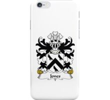 Jones Family Heraldic Shield Crest iPhone Case/Skin