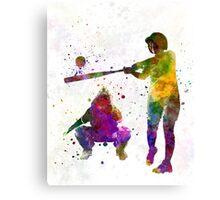baseball players 02 Canvas Print