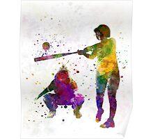baseball players 02 Poster