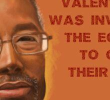 Carson Valentine Sticker