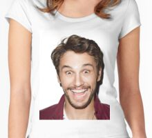 James Franco 3 Women's Fitted Scoop T-Shirt