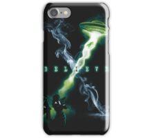 X FILES BELIEVE iPhone Case/Skin