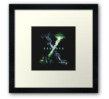 X FILES BELIEVE Framed Print