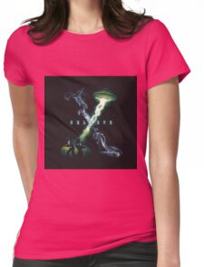 X FILES BELIEVE Womens Fitted T-Shirt