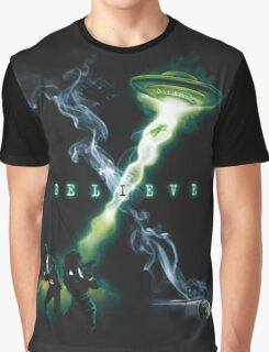 X FILES BELIEVE Graphic T-Shirt