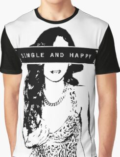 Rihanna 16bit Single and happy Graphic T-Shirt