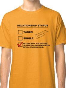 TMI - Malec : Magnus' Relationship Status Classic T-Shirt