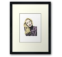 POP! Gillian Anderson Framed Print