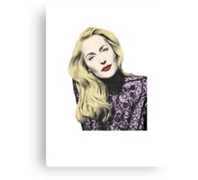 POP! Gillian Anderson Canvas Print