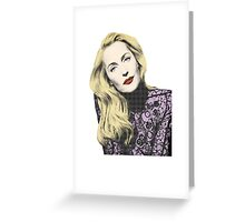 POP! Gillian Anderson Greeting Card