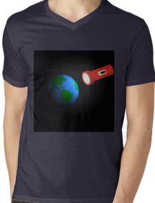 Sun Light on the Earth Mens V-Neck T-Shirt