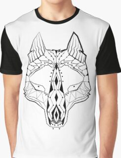 Trible Wolf Graphic T-Shirt