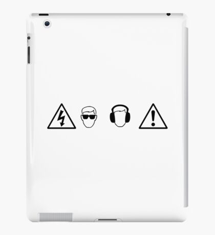 Party Protections iPad Case/Skin