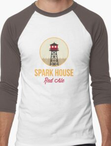Spark House Red Ale Men's Baseball ¾ T-Shirt