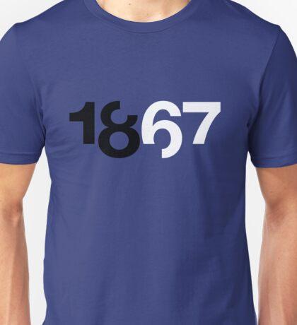 1867 Blue Unisex T-Shirt