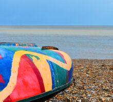 Coloured Boat Sticker