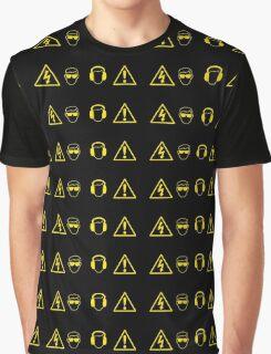 High Voltage Danger Graphic T-Shirt
