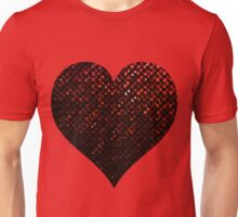 Red Crystal Bling Strass Unisex T-Shirt