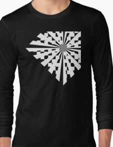 Checka-Check Burst Long Sleeve T-Shirt
