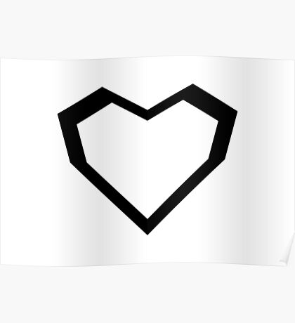 Star wars Stormtroopers Heart Poster